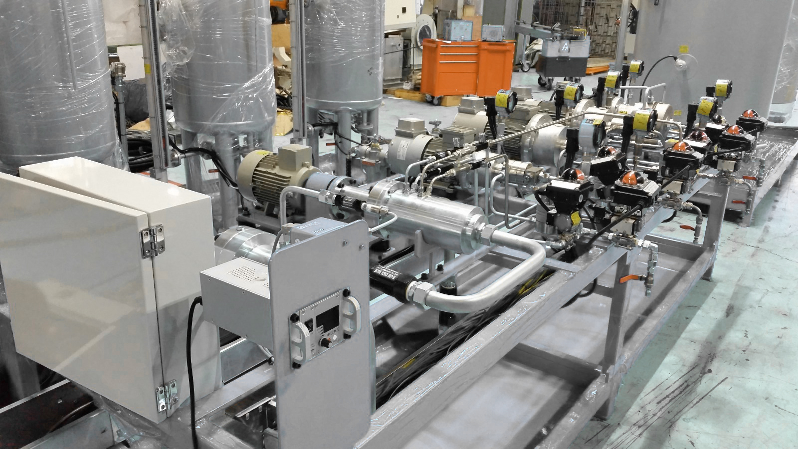 PU Metering & Foaming Portal 1
